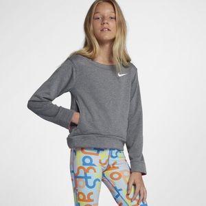Nike Core Studio grey pullover sweater small